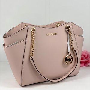 ❤️Michael Kors LG Chain Shoulder Bag Pink